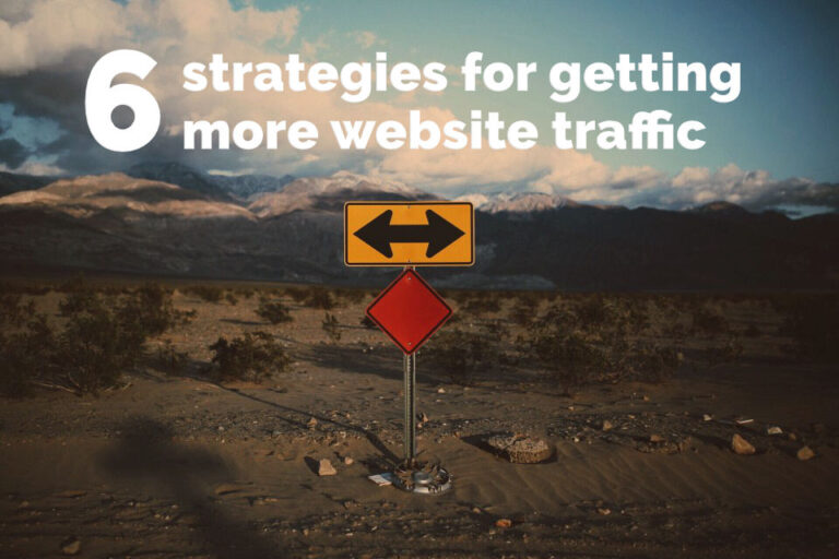 Get more website traffic